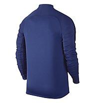 Nike Dril Top Squad Herren-Langarm-Fußballtrikot, Blue