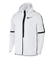Nike AeroShield Hooded - giacca running con cappuccio - uomo, White