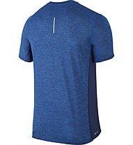 Nike Breathe Dry Miler - Runningshirt Kurzarm - Herren, Blue
