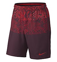 Nike Dry Squad Herren-Fußballshorts, Bright Crimson/Red
