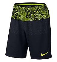Nike Dry Squad Herren-Fußballshorts, Volt/Black