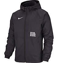 Nike F.C. All Weather Fan Soccer - giacca hardshell - uomo, Black