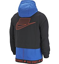 Nike Dri-FIT Flex Men's Training - Kapuzenjacke - Herren, Light Blue/Black