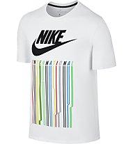 Nike International 1 - Fitness-T-Shirt - Herren, White