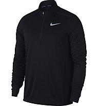 Nike Pacer - Sweatshirt Running - Herren, Black