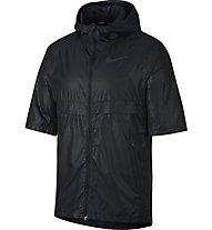 Nike Shield 3D Emboss - giacca con cappuccio running - uomo, Black