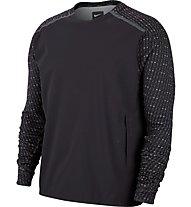Nike Running Hybrid Top - Laufshirt Langarm - Herren, Black