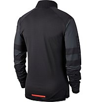 Nike Long-Sleeve Running Top - Sweatshirt Running - Herren, Black