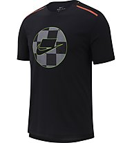 Nike Mesh Running - maglia running - uomo, Black