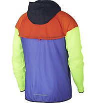 Nike Windrunner - giacca a vento running - uomo, Violet/Orange/Green