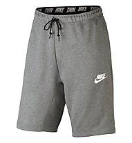 Nike Sportswear Advance 15 - pantaloni corti fitness - uomo, Grey