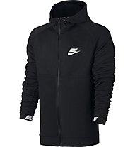 Nike Sportswear Advance 15 Hoodie - Kapuzenjacke - Herren, Black