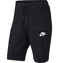 Nike Advance 15 - kurze Fitnesshose - Herren, Black