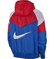 Nike Sportswear Windrunner Hooded - Windjacke - Herren, Red/Blue/White