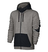 Nike Sportswear Hoodie Full Zip Kapuzenjacke Herren, Dark Grey