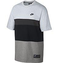 Nike Sportswear Air Short-Sleeve Top - T-Shirt - Men, Grey