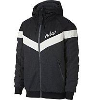 Nike Sportswear Windrunner Sherpa - Kapuzenjacke - Herren, Black