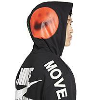 Nike NSW PO FT M - felpa con cappuccio - uomo, Black/White