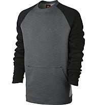 Nike Sportswear Tech Fleece Crew - Fleecepullover - Herren, Grey