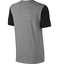Nike Just Do It Swoosh - Fitness T-Shirt - Herren, Grey