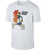 Nike Sportswear Hype 1 - T-Shirt - Herren, White