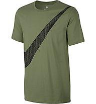 Nike NSW Print PK Swoosh - Sportshirt - Herren, Green