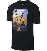 Nike Sportswear Sunset Palm - T-Shirt - Herren, Black
