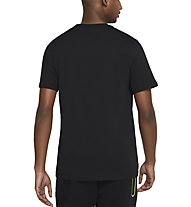 Nike M NSW Swoosh 12 Month - T-shirt - Herren, Black/Green