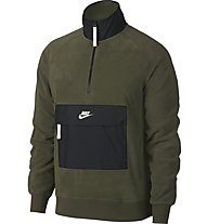 Nike Sportswear Top Half Zip Core Winter SNL - Fleecepullover - Herren, Green