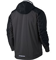 Nike Shield Zoned - Laufjacke - Herren, Black