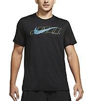 Nike M Short-Sleeve Training - Trainingshirt - Herren, Black