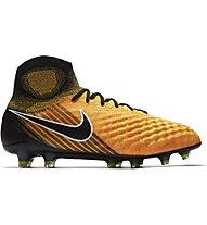 Nike Magista Obra II FG - Fußballschuhe, Orange/Black