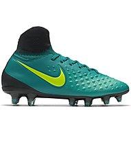 Nike Magista Obra II FG Jr - scarpe da calcio bambino terreni compatti, Rio Teal