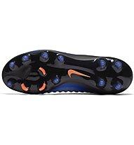 Nike Magista Obra II FG Jr Kinder-Fußballschuhe für normale (feste) Rasenplätze, Blue/Black