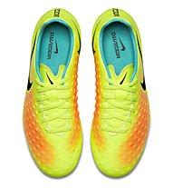 Nike Magista Opus II FG Jr - scarpa da calcio bambino, Volt/Black