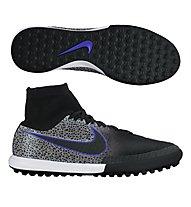 Nike MagistaX Proximo TF - Fußballschuhe, Black/White/Violet