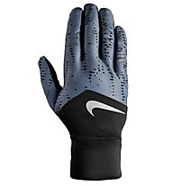 Nike Dri Fit Tempo - Handschuh Running - Herren, Black/Blue