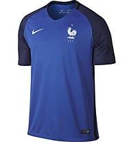 Nike Men's FFF Stadium Top - Nationaltrikot Frankreich, Hyper Cobalt/White
