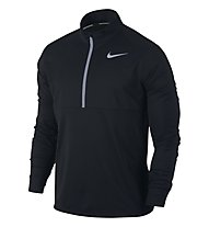 Nike Men's Running Top - langärmliges Runningshirt - Herren, Black