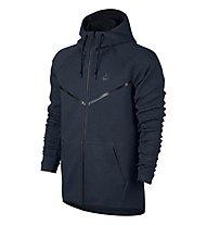 Nike Sportswear Tech Windrunner - Kapuzenjacke Fitness - Herren, Obsidian