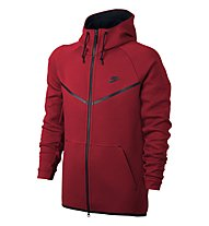 Nike Sportswear Tech Fleece Windrunner Jacke Herren, Red