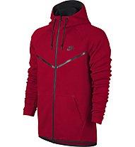 Nike Sportswear Tech Windrunner - Kapuzenjacke Fitness - Herren, Tough Red