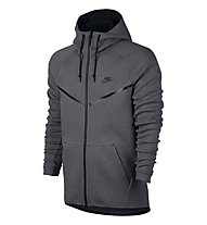 Nike Sportswear Tech Windrunner - Kapuzenjacke Fitness - Herren, Dark Grey