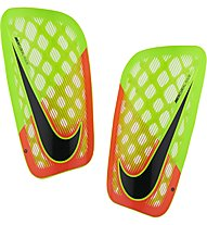 Nike Mercurial Flylite - Fußball-Schienbeinschützer, Electric Green/Hyper Orange/Black