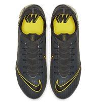Nike Mercurial Superfly 6 PRO FG - scarpe da calcio terreni compatti, Dark Grey/Yellow