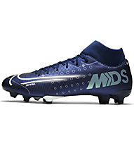 Nike Mercurial Superfly 7 Academy MDS MG - scarpe da calcio multiground - uomo, Blue/White