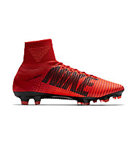 Nike Jr. Mercurial Superfly V DF FG - scarpa calcio terreni compatti - bambino, Red
