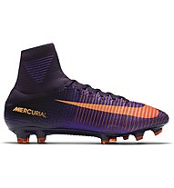 Nike Mercurial Superfly V FG - scarpe da calcio terreni compatti, Purple