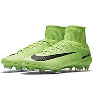 Nike Mercurial Superfly V FG - Fußballschuhe fester Boden, Electric Green