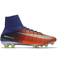 Nike Mercurial Superfly V FG - Fußballschuhe, Blue/Orange